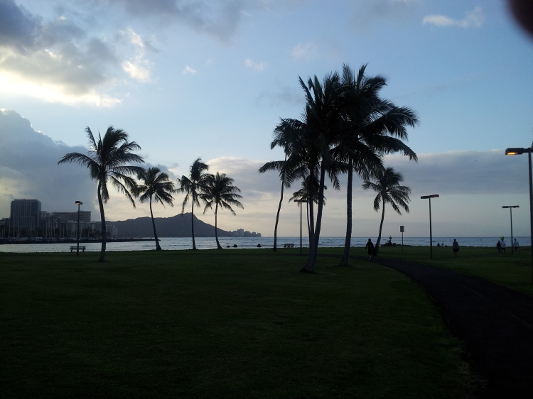Early morning in Honolulu