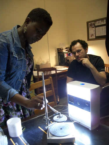 Amanda Ndemo, left, joined the VCL this summer.