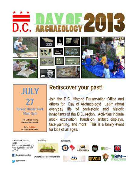 Day of Archaeology flyer!