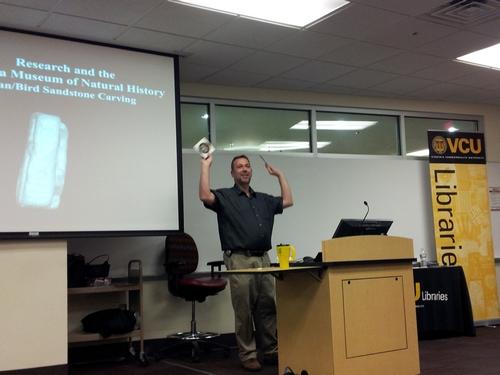 Bernard K. Means madly gestures!