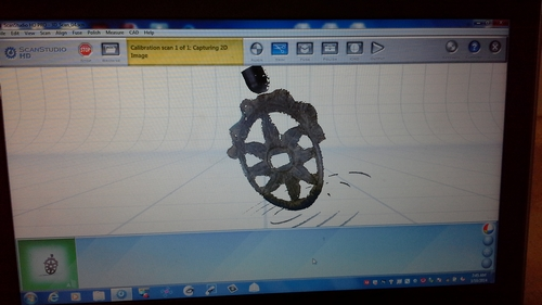 Digital model of escutcheon.