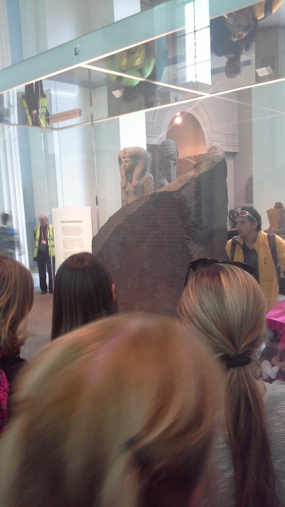 Looking at the Rosetta Stone