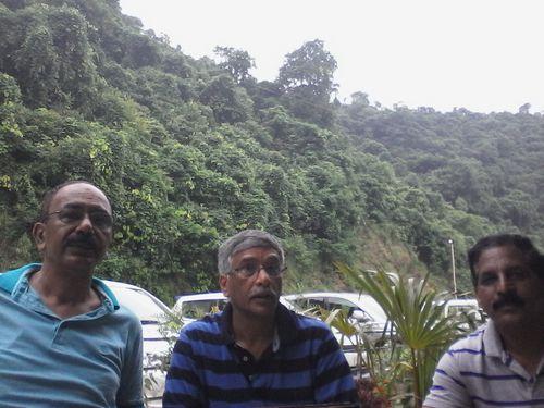 R.C., Vinod, and Praadeep .
