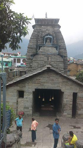 The Siva temple of Rudranath (Gopinath)