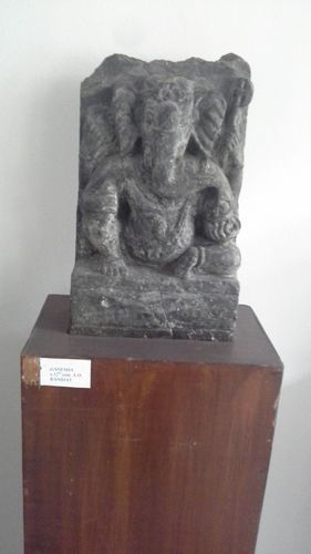 Sculpture of Ganesh 3D scanned in the Museum of Himalayan Archaeology and Ethnography