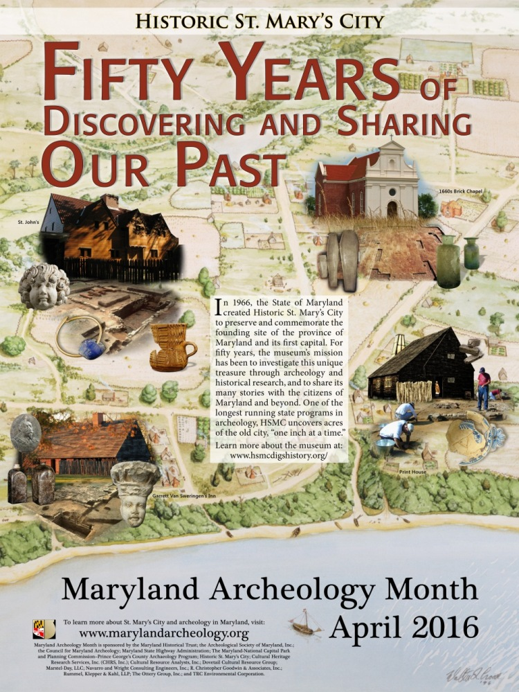 2016-MD-Archeology-Month-poster