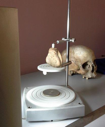 bkm_terracotta figurine scanning with skull