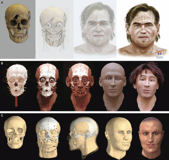 3D Facial Reconstruction in the Virtual Curation Laboratory | the