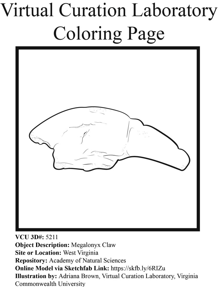 5211_coloring_page_megalonyx_claw