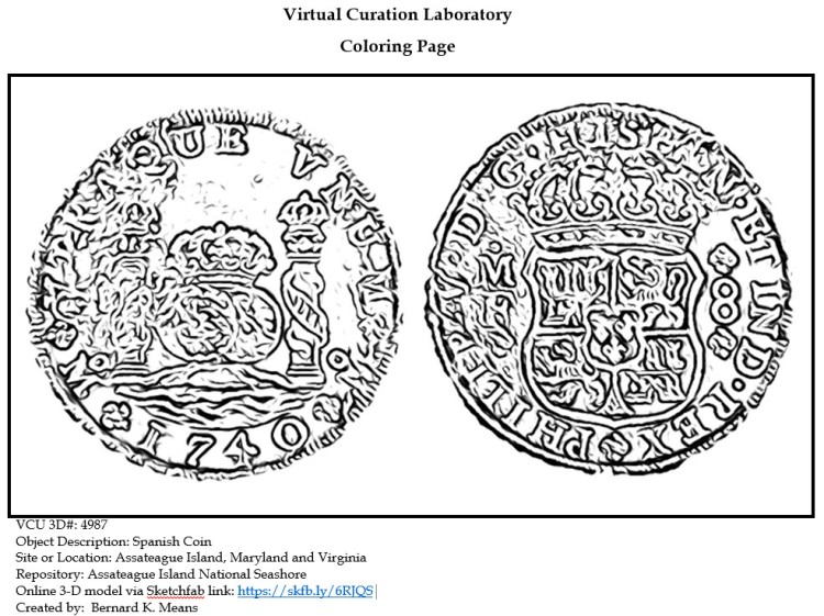 4987_coin coloring page